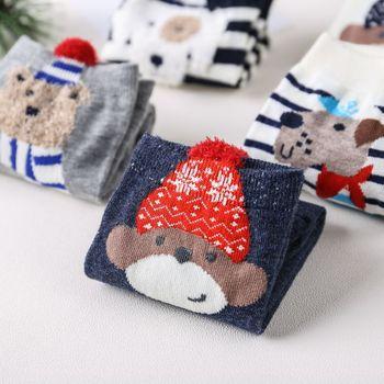 Women Socks Kawaii Cartoon Christmas Short Cute Lovely Sweet Cotton Casual Fashion Ankle Funny Happy Unisex