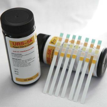 100 sztuk URS-5K glukoza pH białko keton krwi moczu papierek wskaźnikowy pasek odczynnika do moczu zdolność interferencji anty-vc 1014 tanie i dobre opinie