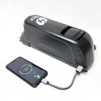 Leistungsstarke Elektrische fahrrad batterie Lithium-36 V 500w battries li ion ebike batterie für fahrrad mit Samsung 18650 zellen led-anzeige