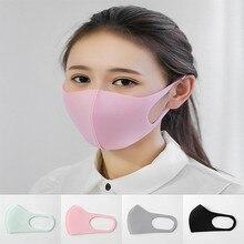 Хлопковая Милая моющаяся маска для рта, маска, фильтр для носа, Ветрозащитная маска для лица, ткань тканевый респиратор