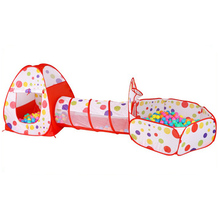 Play Pen Baby Play Yard Ball Pit Ball Pool Toddler Foldable Ball Tent Indoor Tent Game House Room Bed Beach Playpen 3 in 1