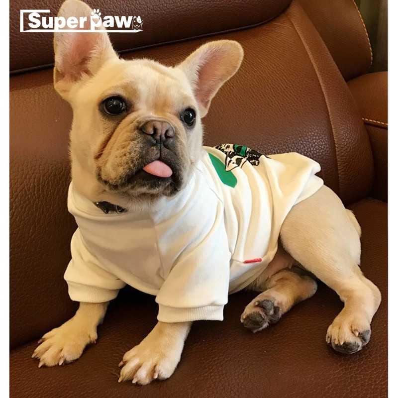 Moda Pet Dog odzież letnia koszulka dla małych psów buldog francuski kurtka Yorkshire bluza z kapturem Chihuahua płaszcz kostium XQC13