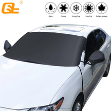 Car windshield cover anti-freeze snow anti-snow dustproof heat insulation four seasons universal for Hatchback sedan SUV