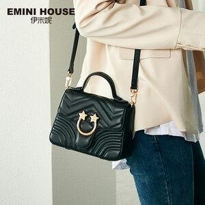 Image 1 - EMINI maison Star matériel en cuir véritable sac à main de luxe sacs à main femmes sacs concepteur sacs à bandoulière pour femmes sac à bandoulière