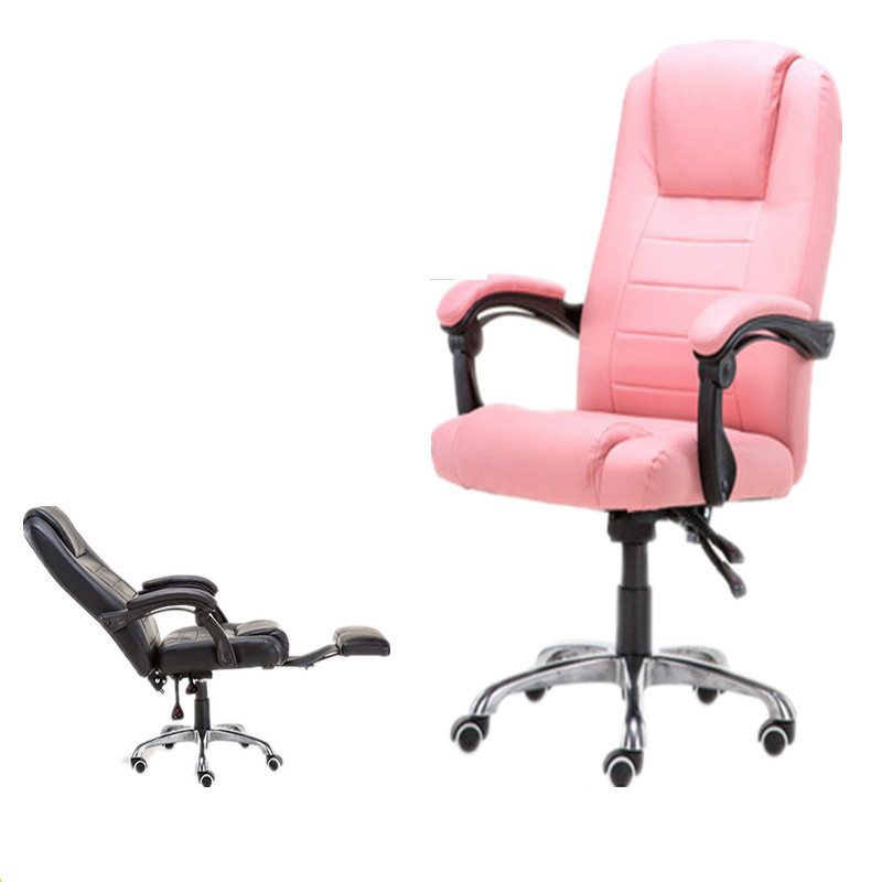 Genuine Leather Office Chair Household Cowhide Leather Gaming Chair PU Swivel Lift Reclining Silla Oficina Silla Gamer
