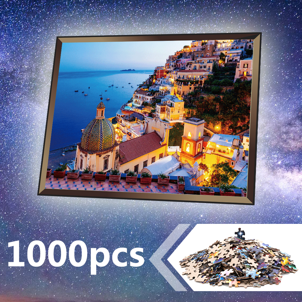 Jigsaw Puzzle 1000 Pieces Assembling Picture Landscape Puzzles Educational Toys For Children Adult Bedroom Home Decoration
