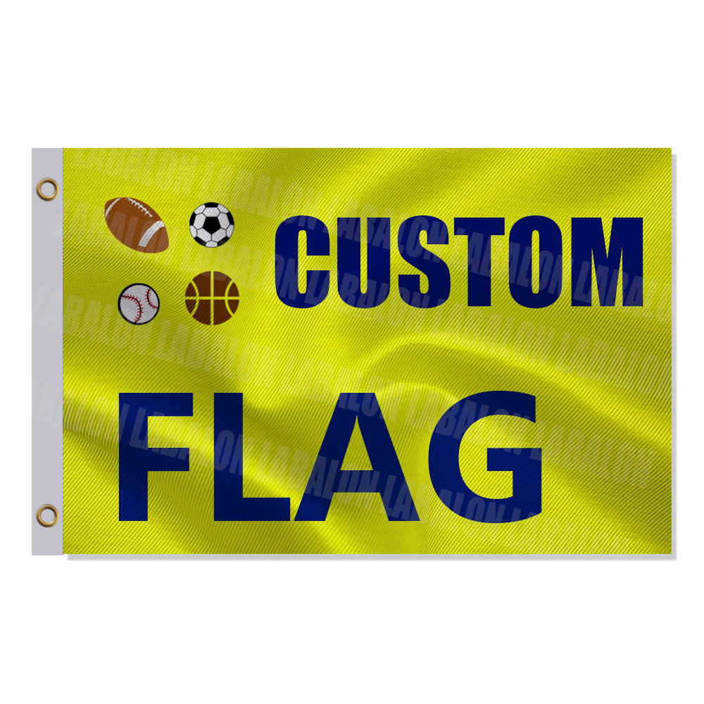 Custom Flag 2x3ft 3x5ft 2x8ft flag Company Advertising Logo Sports Outdoor Club Digital printing Banner and Flag