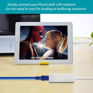 Image 3 - アダプタ雷に RJ45 イーサネット Lan 有線 Networrk 100 150mbps のネットワークケーブル海外旅行コンパクト iphone 7/ 8/7 1080P/8 1080P