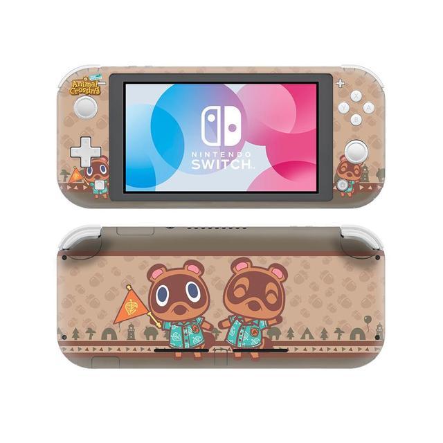 Pegatinas protectoras de Animal Crossing para Nintendo Switch, pegatinas protectoras de vinilo para consola Nintendo Switch Lite NS