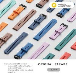 22mm Original Strap Amazfit Smart Watch Strap for Original Amazfit Pace Stratos GTR Watch Amazfit Smartwatch
