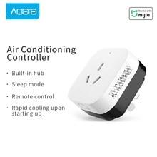 Aqara gateway ar condicionado companheiro zigbee mihome app controle remoto mijia sensor controlador original aqara casa inteligente soquete