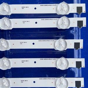 Image 3 - For samsung 2013SVS32H Ue32f5000 D2GE 320SCO R3 UA32F4088AR UA32f4100AR backlight LUMENS D2GE 320SC0 R3 650MM 9LED 32 inch