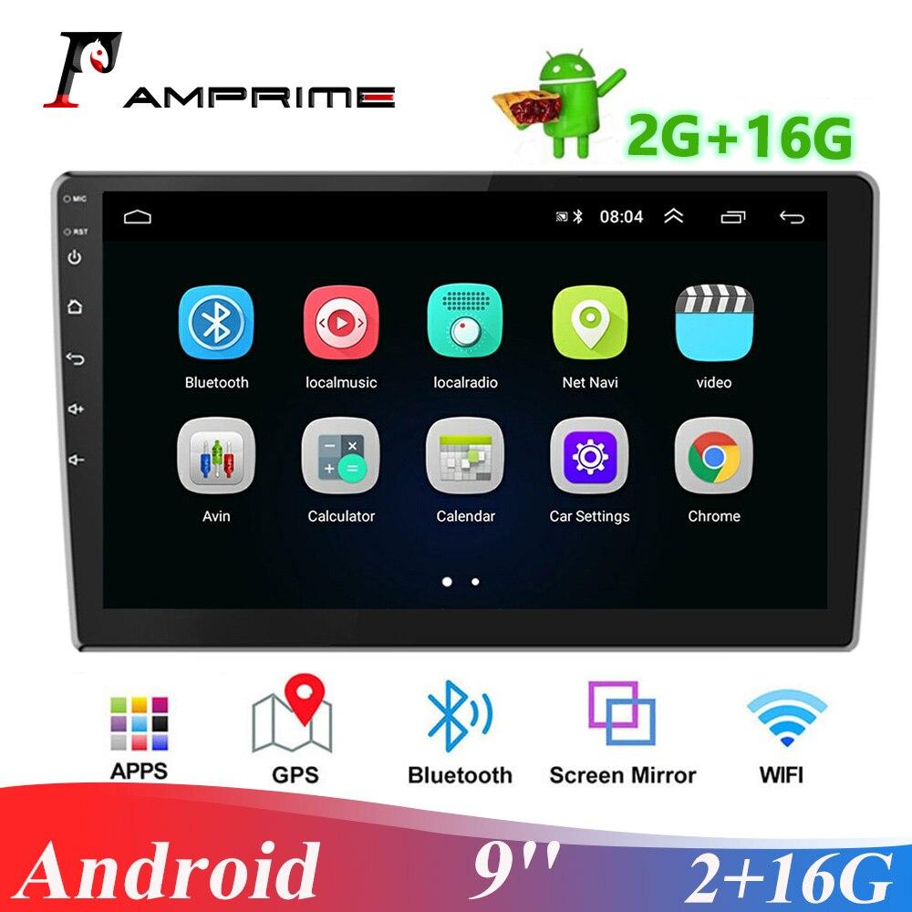 AMPrime Android автомобильное радио 2 din 9