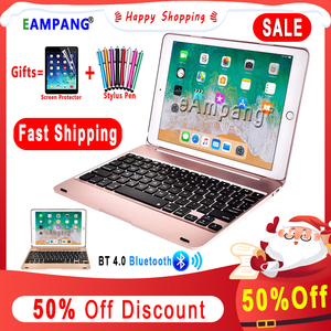 Smart Keyboard for Apple iPad 9.7 2017 2018 5th 6th Generation Bluetooth Keyboard Case for iPad Air 1 2 5 6 Pro 9.7 mini 2 3 4 5(China)