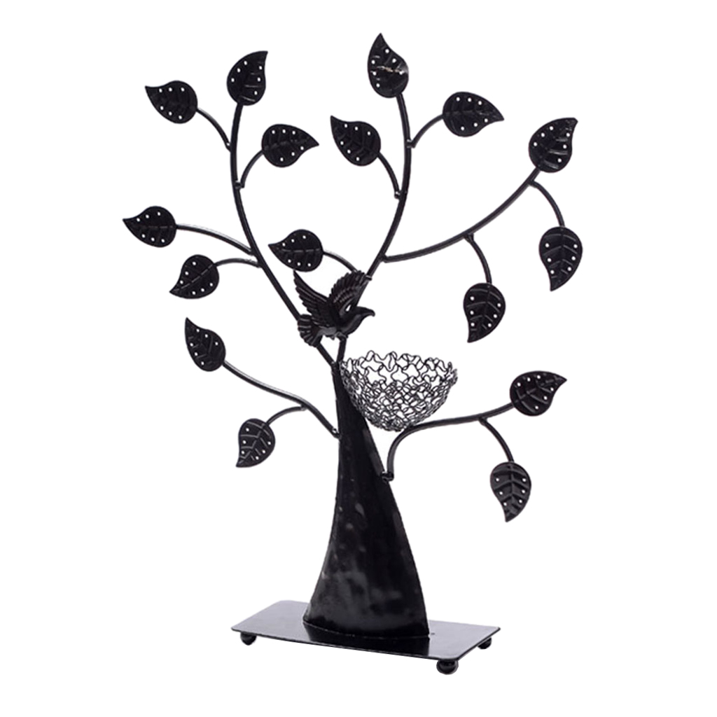 Tree Iron Earring Jewelry Display Stand Jewelry Holder Organizer Home Decors