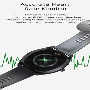 Image 4 - KW33 Smart Horloge Mannen IP68 Waterdichte 460Mah Lange Standby Fitness Tracker Hartslagmeter Bloeddruk Sport Smartwatch