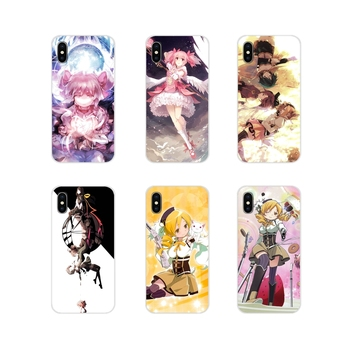 puella magi madoka magica For Apple iPhone X XR XS 11Pro MAX 4S 5S 5C SE 6S 7 8 Plus ipod touch 5 6 Transparent TPU Shell Covers image