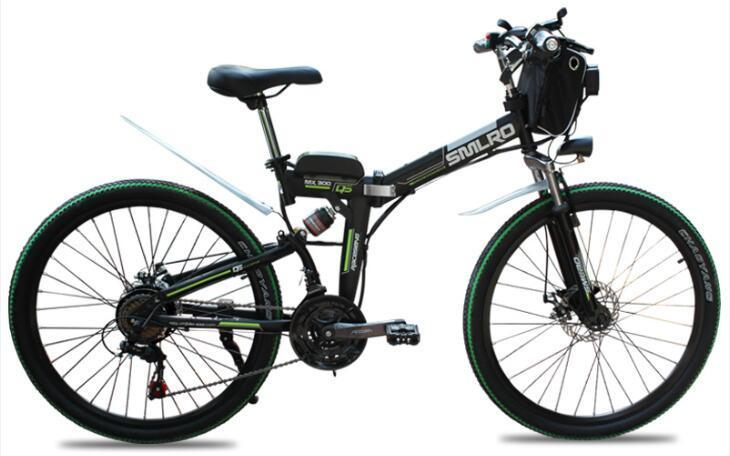 MX300 SMLRO 21 speed high quality electric bike/electric bicycle Carbon Steel 350W 48V e bike 2