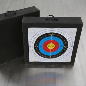 Image 3 - Archery Shooting Target Set 50 * 50 * 5cm EVA Foam Target With Target Papers Nails Outdoor Sports Hunting Archery Accessories