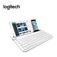 Logitech K480 Wireless Keyboard Bluetooth Multi Device Keyboard with Phone Holder Slot for Windows Mac OS iOS Android