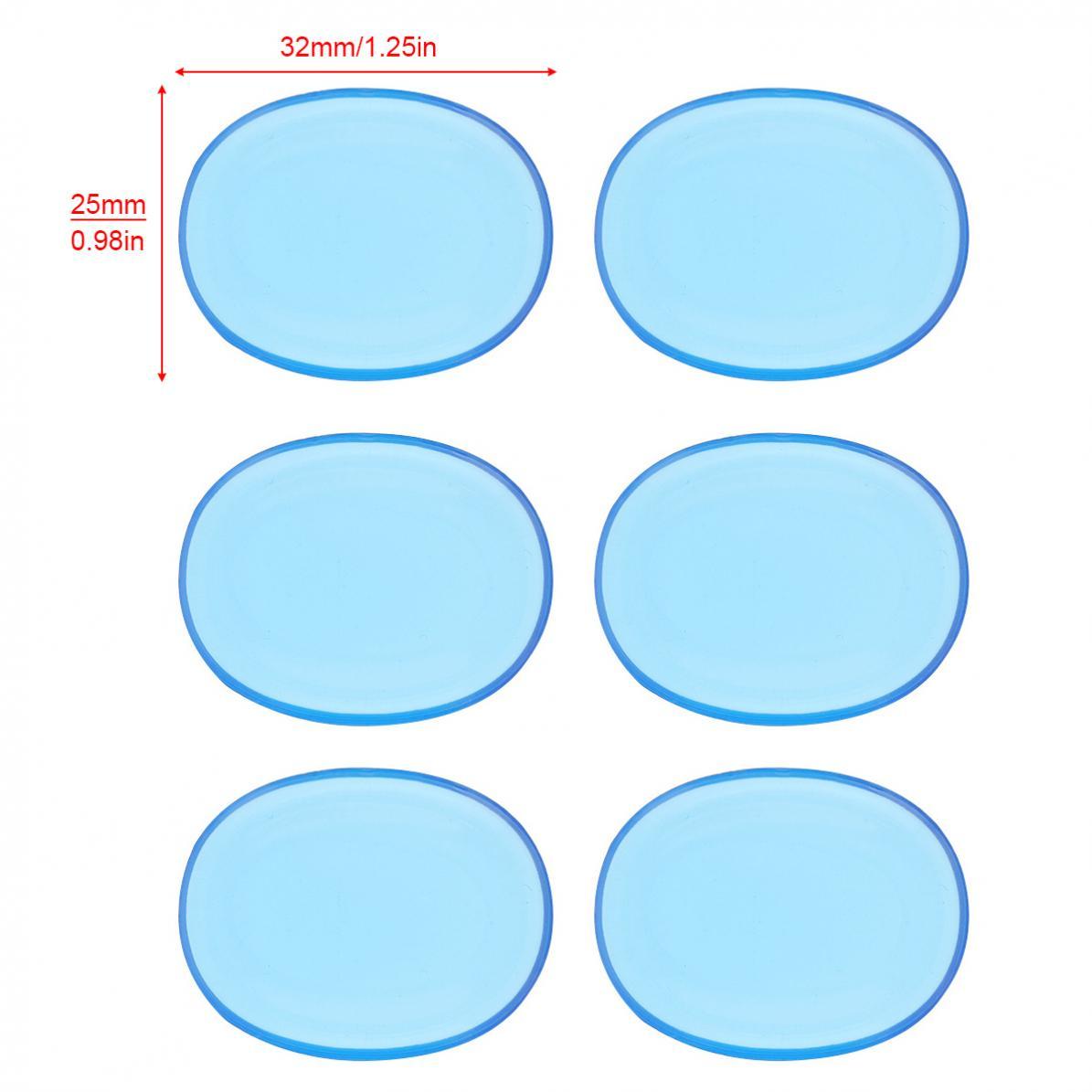 12 pçs lote tambor mudo almofada silicone
