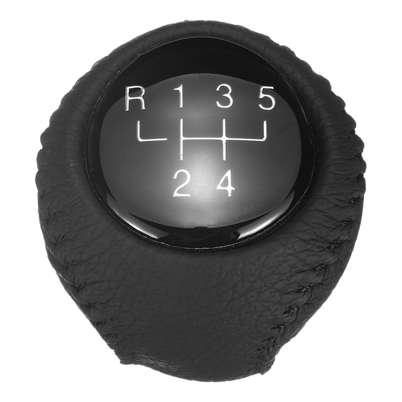 5 Speed Car Manual Gear Shift Knob Shift Lever Leather Handball Gear for Chevrolet Epica Aveo for Buick Kay Gear Shift Knob     - title=