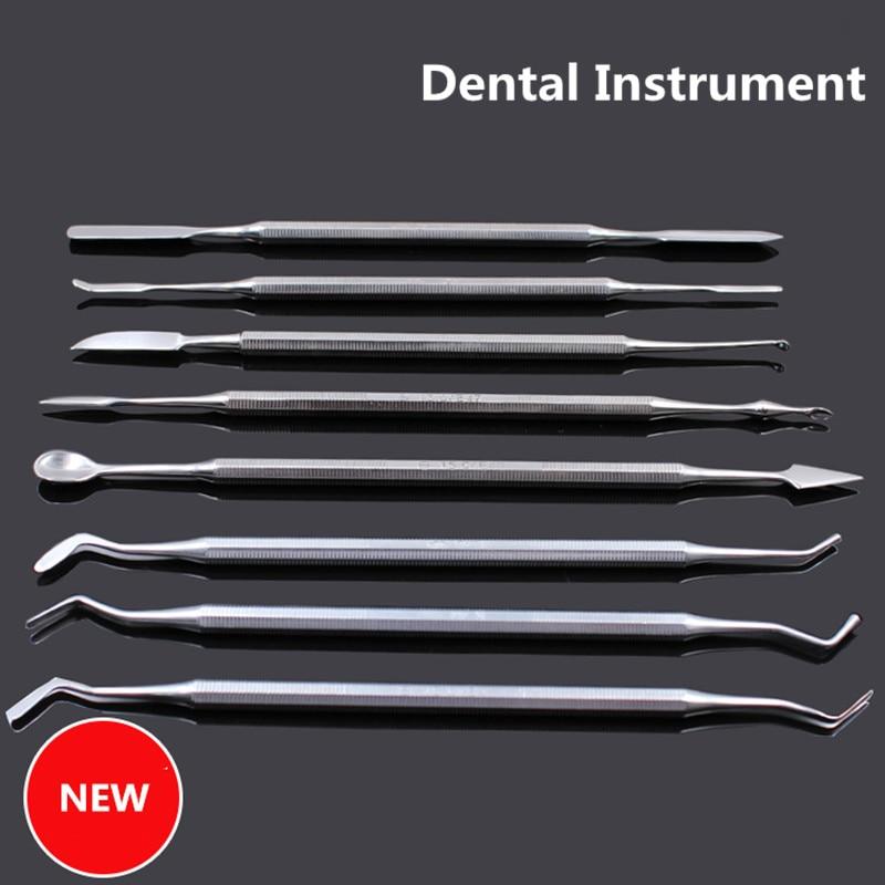 1 шт. стоматологический аппарат для резки воска смешивающий нож-Лопатка композитный заливной полимер инструменты для макияжа стоматологические лабораторные материалы с двойными концами
