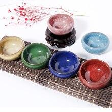 Красочный керамический подсвечник, соевый воск, сделай сам, контейнер, арома подсвечник, подсвечник, материал для фестиваля, изготовление канделей
