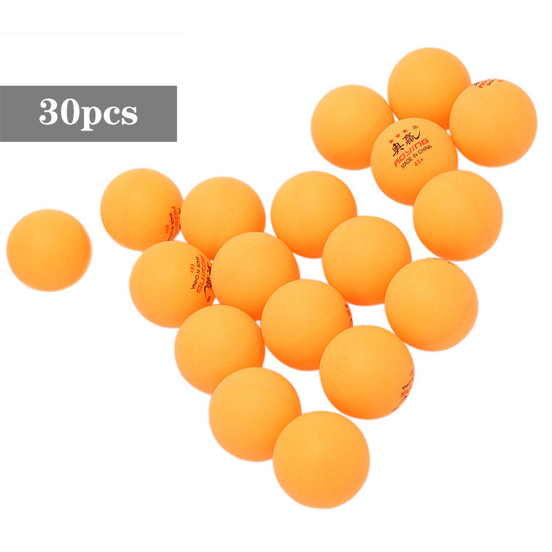 30 Pcs 3-Star 40mm 2.8g Table Tennis Balls White Yellow Pingpong Training Ball Table Tennis Racquet Sports Keep Healthy