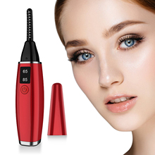 New Mini USB Rechargeable Electric Heated Eyelash Long-Lasting Electric Ironing Eyelash Curler Device For Beauty molecule professional плойка для завивки ресниц electric heated eyelash curler плойка для завивки ресниц electric heated eyelash curler 1 шт