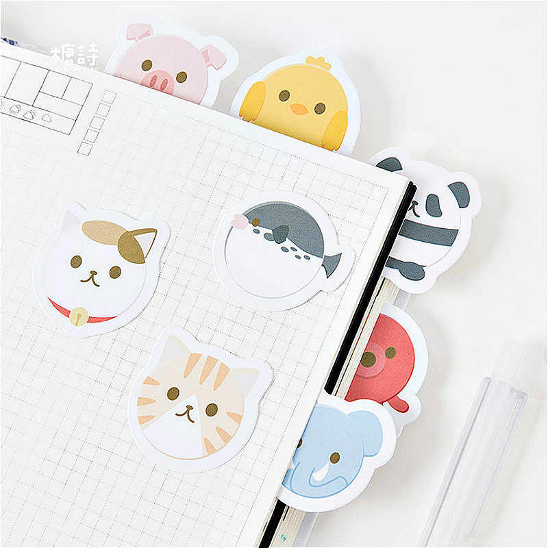 1 Pack Halus Bulat Kucing Washi Tape Warna Dasar Kertas Washi Tape Pita Perekat DIY Dekoratif Label Stationery Tape