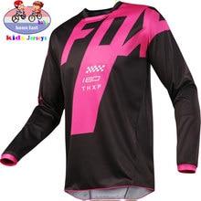 2021 FOX MTB Motocross Jersey Jersey Downhill Bike Jersey MOTO DH MX