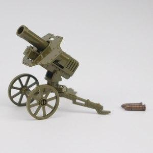 Image 2 - צבאי Solider ערכות דגם צעצוע לילדים אבני בניין צעצועים ותחביבים WW2 ילדים מקלעי נשק צבאי צבא