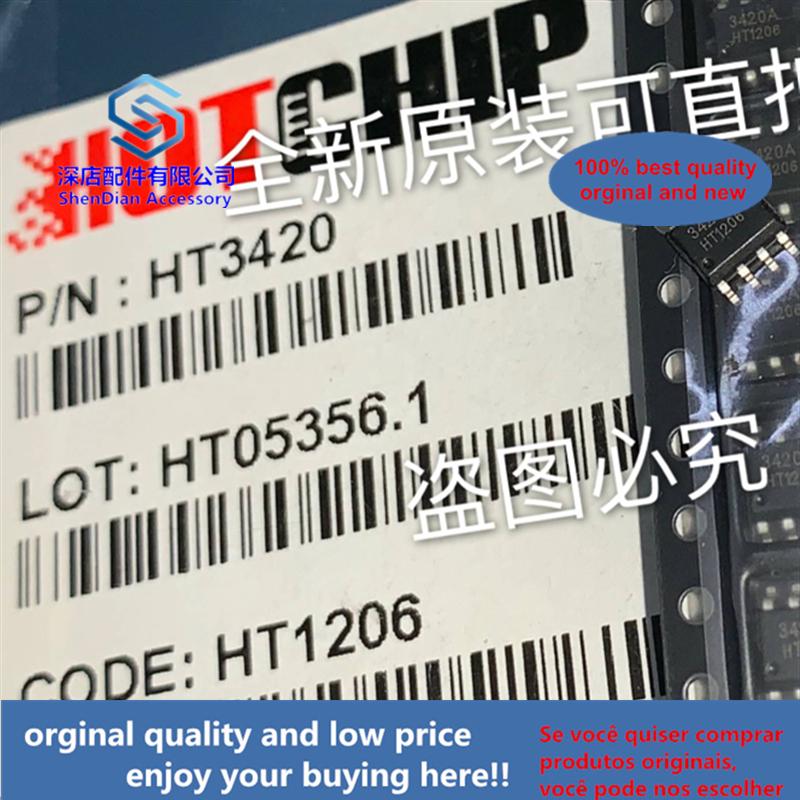 20pcs 100% Orginal And New HT3420 HOTCHIP SOP8 Best Qualtiy