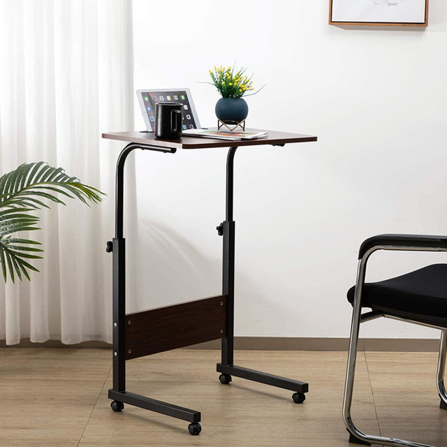 Wooden Computer Desk Office Desk Modern Writing Table Universal Laptop Stand Home Office Furniture PC Workstation Study Table 2