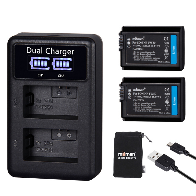 EU Universal Charger For 3.7V 18650 16340 14500 Li-ion Rechargeable Battery HICA