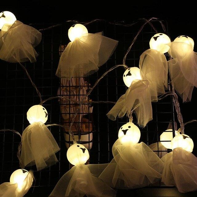 Купить 20 40 светодиодный светильник в форме куклы призрака для хэллоуина картинки