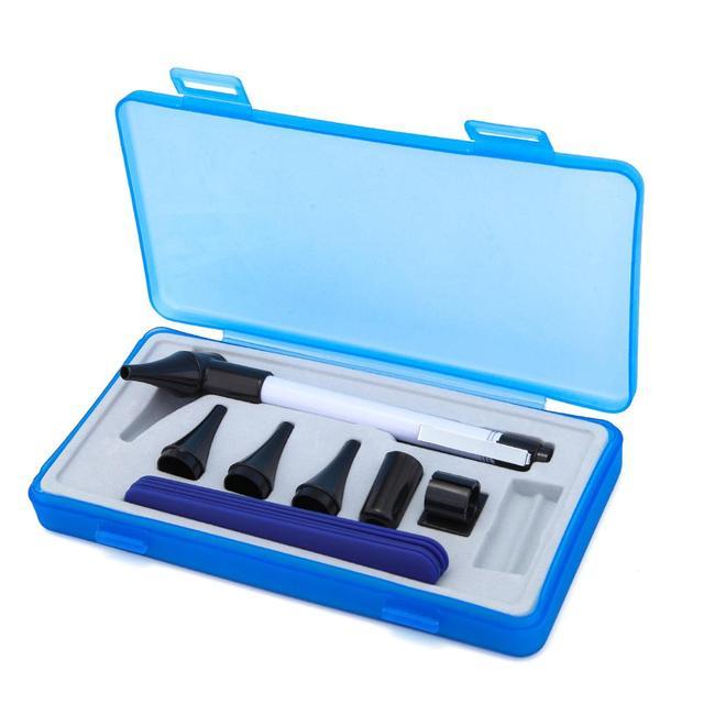 منظار الأذن الطبي منظار العين منظار الفم مجموعة الأذن الحلق عدة أدوات السريرية التشخيص PenLight مكبرة القلم المعدات