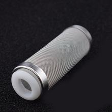 Stainless Steel Aquarium filter Net cover Water Inlet Cover Inlet Protection Sleeve Fish Tank Aquarium Filter Accessories(China)