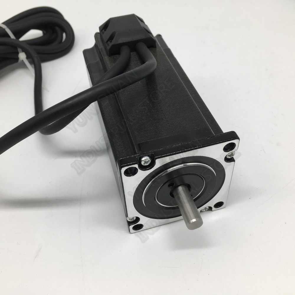 4 adet 1000rpm Nema23 2.2Nm 57MM 8mm mil DC DSP 2 fazlı 1000 hattı kodlayıcı Hybird kapalı döngü step Motor sürücü kolay Servo kitleri