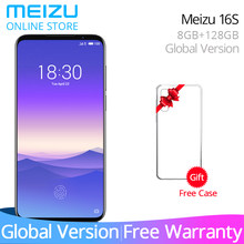 In Stock Meizu 16s Global Version Meizu16s 8GB 128GB Smartphone Snapdragon 855 48MP Camera NFC Android Pay phone 24W Fast Charge(China)