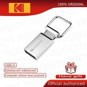 Kodak K112 Mini Metal USB Flash Drive 16GB 32GB 64GB flash Memory stick pen drive USB2.0 pendrive memoria usb