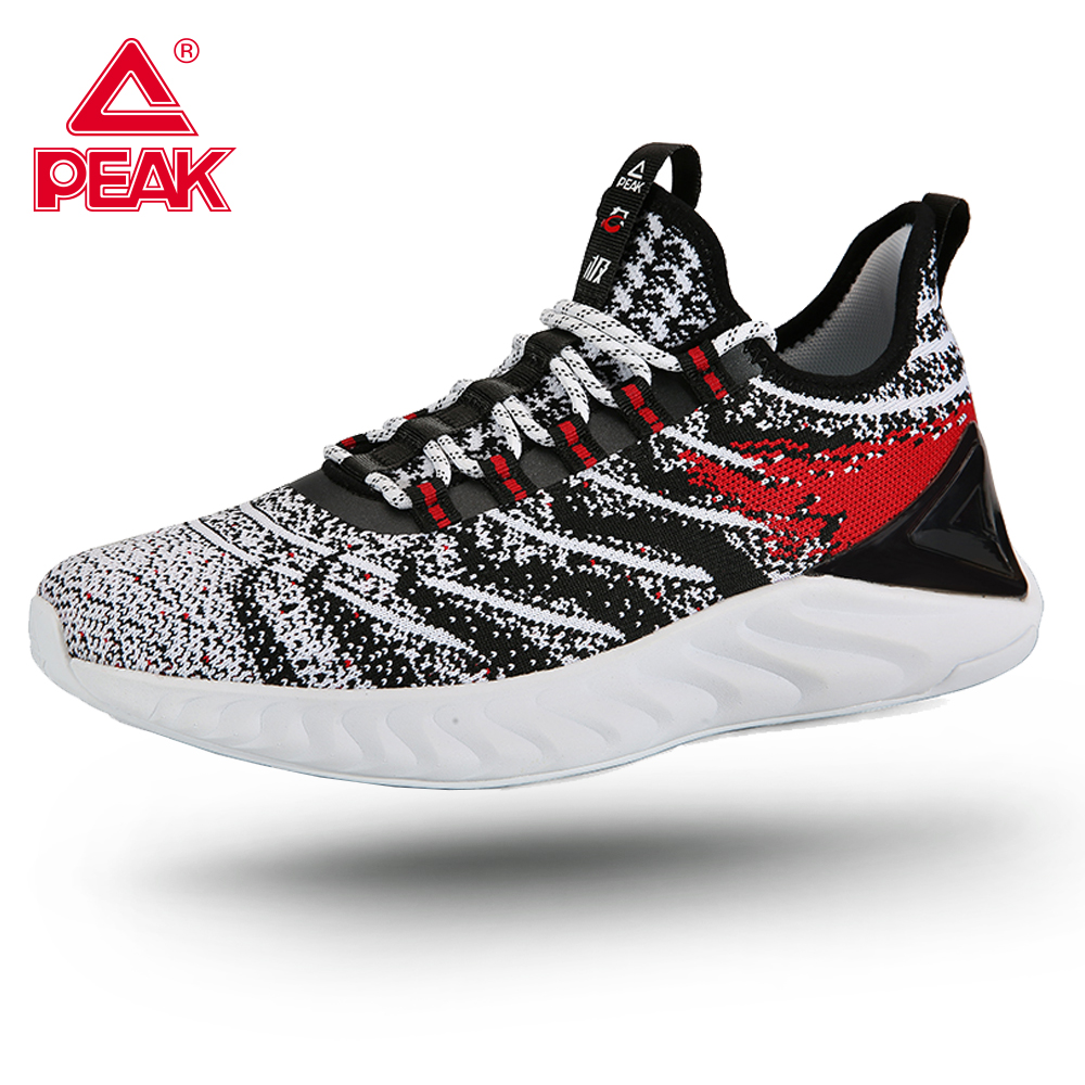PEAK TAICHI Women's Running Shoes Lightweight Adaptive Gym Fitness Sport Shock Technology Sneakers TAICHI Comfort Jogging Shoes