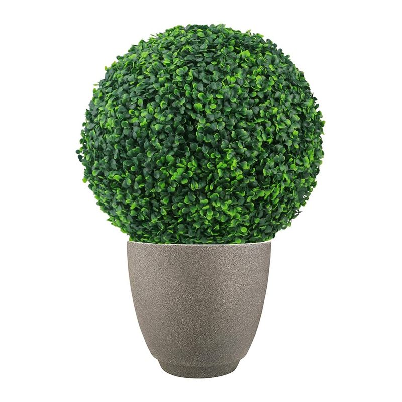 Plants Topiary Balls Decor Inch Backyard Decoration Boxwood Artificial Ball Home For 15 Faux Accessories 2 7 Plastic Wedding PCS