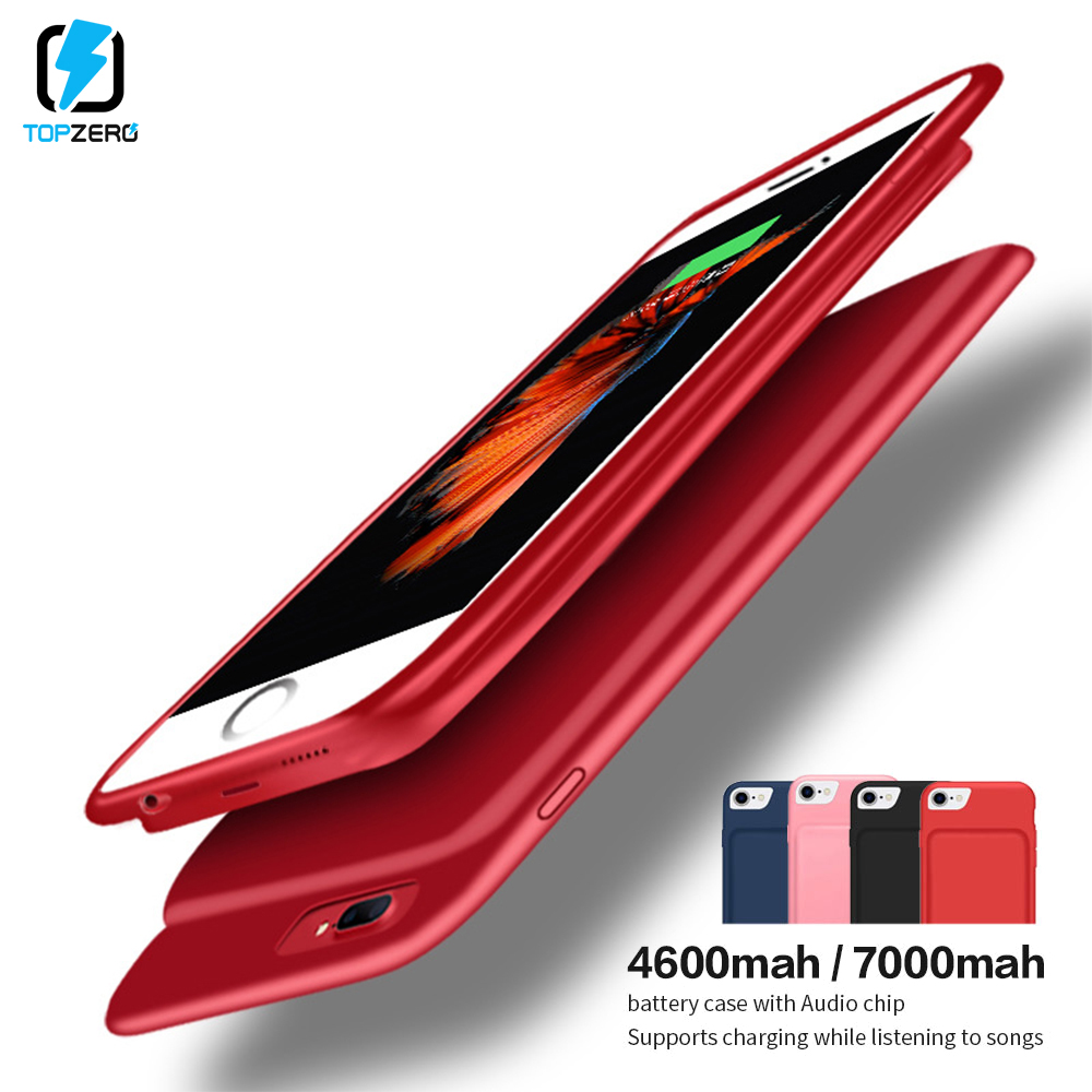 4500mah <font><b>Battery</b></font> Charge <font><b>Case</b></font> For <font><b>iPhone</b></font> <font><b>6</b></font> 6s 7 8 Magnetic External Powerbank <font><b>Case</b></font> Audio For <font><b>iPhone</b></font> 7 8 Portable <font><b>Battery</b></font> <font><b>Case</b></font> image