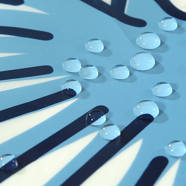 Фото прозрачные шторки для душа peva мультфильм ракушки морская звезда