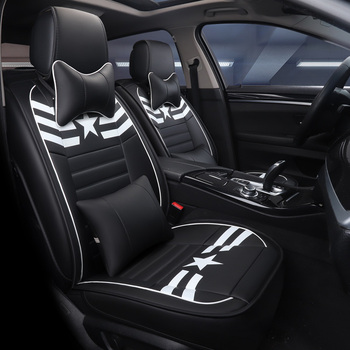 Car Seat Cover Auto Seats Covers Vehicle Chair Leather Case for Ford Mondeo Mk3 Mk4 Mondeo Mustang Ranger S Max Transit