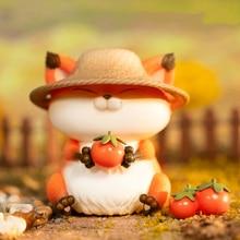 Sesame Fox Eats the World Series Blind Box Dolls Hand-made Decoration Birthday Gift anime decor office desk accessories figurine