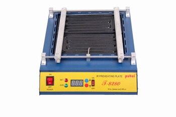 цена на Free shipping 220V or 110V T8280 PCB Preheater T 8280 IR Preheating Plate T-8280 IR-Preheating Oven Dismantling Welding Chip