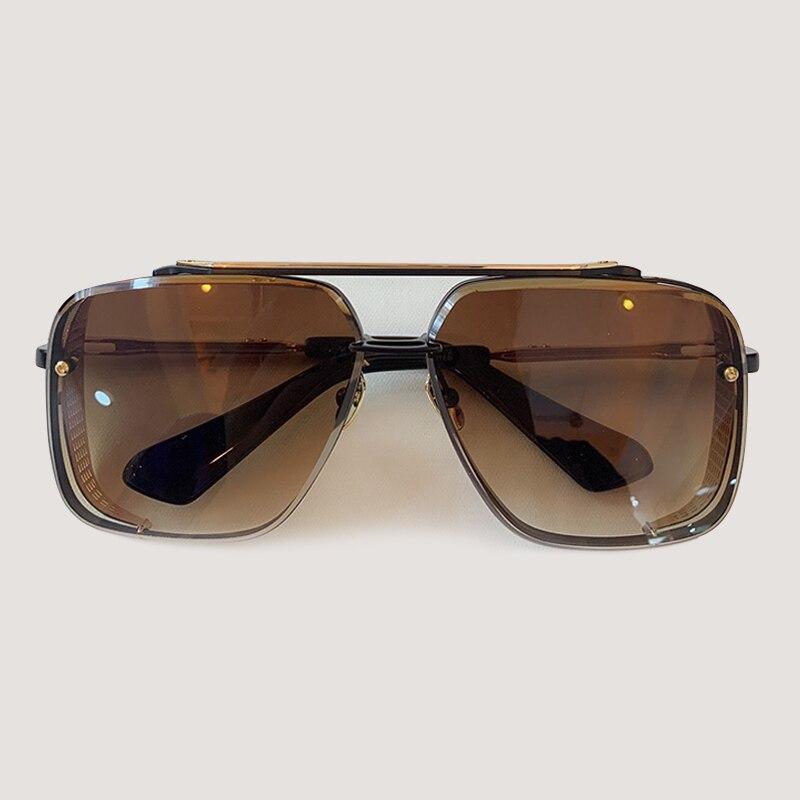 Marque femmes lunettes de soleil de haute qualité surdimensionné hommes lunettes de soleil carré Oculos de sol mâle miroir lunettes